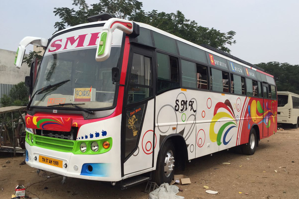 18 seater traveller in trichy